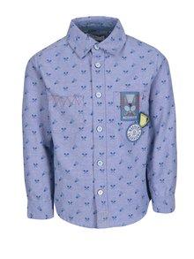 Světle modrá vzorovaná klučičí košile 5.10.15.