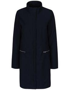 Tmavomodrý tenký kabát VILA Misty