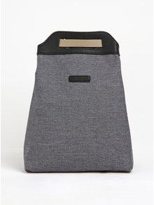 Sivý melírovaný asymetrický vodovzdorný batoh UCON ACROBATICS Calina