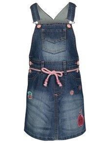 Modrá džínová holčičí sukně s laclem 5.10.15.