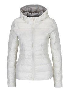 Krémová prošívaná bunda s kapucí Haily´s Dora