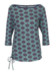 Tricou cu mâneci 3/4 verde și șnur Tranquilllo Merida
