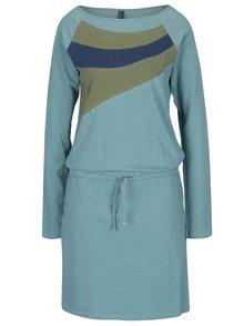 Svetlozelené šaty s vreckami Tranquillo Philina