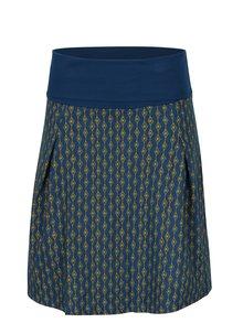 Žluto-petrolejová vzorovaná sukně Tranquillo Pelelo
