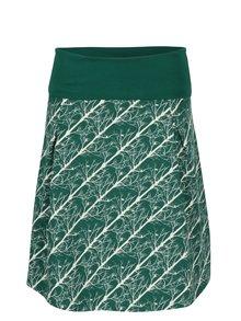 Krémovo-zelená vzorovaná sukně Tranquillo Pelelo