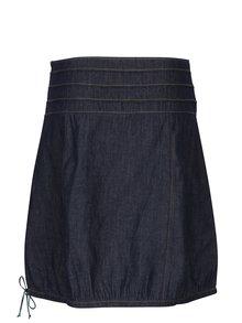 Tmavě modrá džínová balónová sukně se stahováním Tranquillo Babro