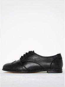 Pantofi negri din piele pentru femei Clarks Andora Trick