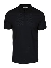 Modro-černé polo tričko Jack & Jones Premium Smith Field