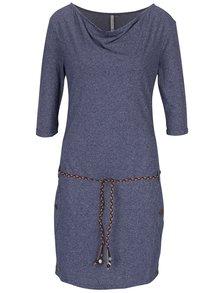 Tmavě modré šaty s kapsami Ragwear Tanya Mel Organic