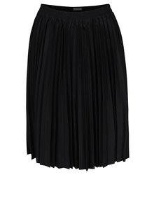Černá plisovaná sukně Selected Femme Kimka