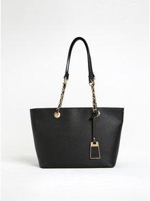 Čierna kabelka s detailmi v zlatej farbe ALDO Jambu