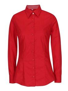 Červená dámske košeľa VAVI