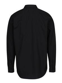 Čierna pánska formálna košeľa VAVI