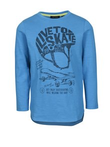 Modré klučičí tričko s potiskem Blue Seven