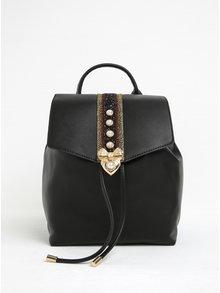 Černý batoh s ozdobným pruhem ALDO Aradoven