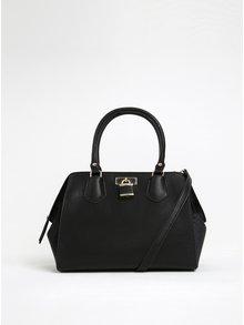 Čierna kabelka s detailmi v zlatej farbe ALDO Tagua