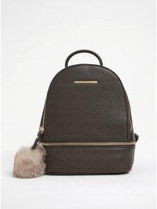 Hnědý dámský malý vzorovaný batoh ALDO Parma