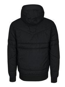 Geaca neagra matlasata impermeabila pentru barbati - Ragwear Dockie