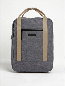 Sivý žíhaný vodovzdorný batoh/tažka UCON ACROBATICS Ison 16 l