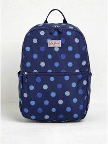 Tmavě modrý dámský puntíkovaný batoh Cath Kidston