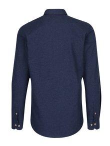 Modrá melírovaná košeľa Kronstadt Dean