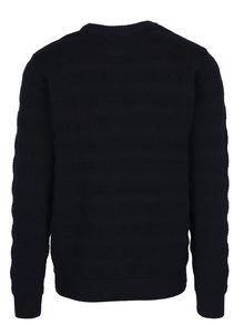 Tmavomodrý sveter so vzorom Kronstadt Claus