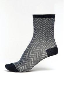 Șosete bleumarin cu sclipici pentru femei - Denmark Yao