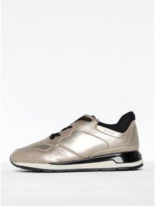 Pantofi sport auriu metalic pentru femei - Geox Shahira B