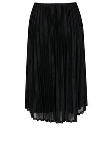 Černá plisovaná sukně VERO MODA Glitzy