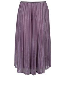 Svetlofialová plisovaná sukňa VERO MODA Glitzy