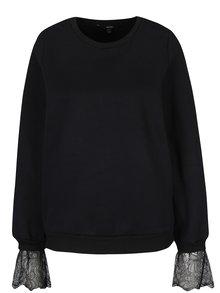 Bluză neagră cu detalii din dantelă - VERO MODA Bessie