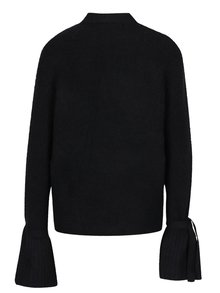 Pulover negru tricotat cu mâneci tip clopot - VERO MODA Elina