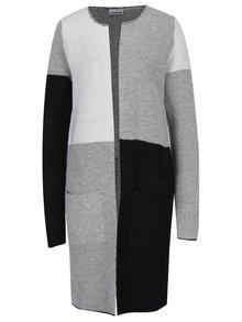 Cardigan tricotat gri & negru - VERO MODA Nina