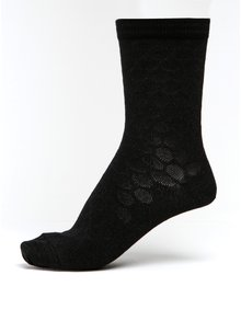 Černé dámské třpytivé puntíkované bambusové ponožky mp Denmark Ursa