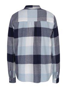Krémovo-modrá kockovaná košeľa Noisy May Erik