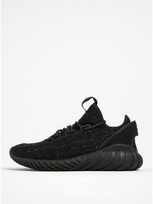 Černé pánské perforované tenisky adidas Originals Tubular Doom Sock