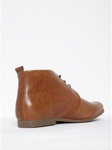Hnedé pánske kožené členkové topánky Royal RepubliQ