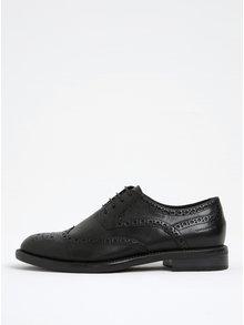 Pantofi oxford brogue negri Vagabond Amina