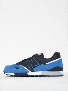 Pantofi sport albastru cu gri închis pentru bărbați - New Balance 446