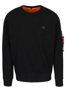 Bluză sport neagră cu buzunar pentru bărbați ALPHA INDUSTRIES