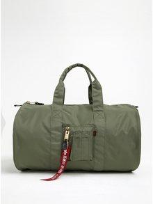 Zelená cestovní taška ALPHA INDUSTRIES