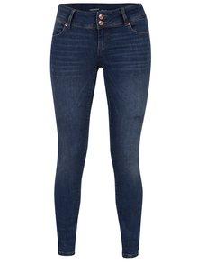 Modré super slim džíny s nízkým pasem VERO MODA Five