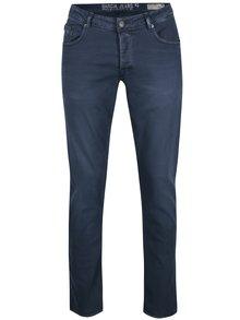 Tmavě modré pánské slim fit kalhoty Garcia Jeans Savio