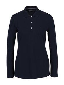 Tmavě modré polo tričko s dlouhým rukávem Nautica