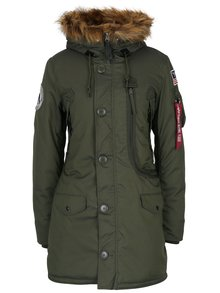 Geaca parka kaki ALPHA INDUSTRIES