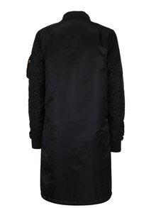 Jacheta lungă matlasată neagră pentru femei ALPHA INDUSTRIES