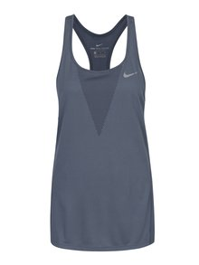 Modré dámske funkčné tielko Nike