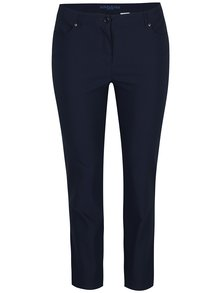 Tmavě modré elastické kalhoty Gina Laura