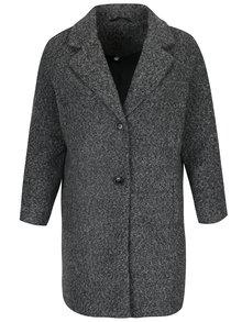 Palton gri cu model boucle  pentru femei - Gina Laura