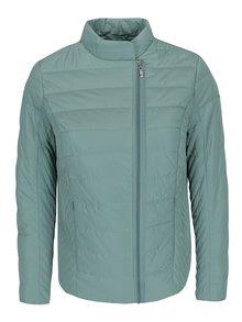 Jachetă matlasată verde deschis pentru femei - Gina Laura